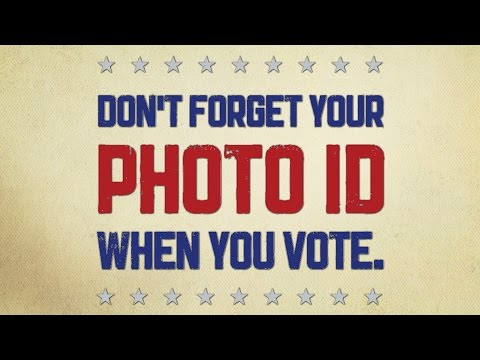 Don't Forget Your Photo ID When You Vote - PSA