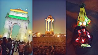 Night out INDIA Gate !! At night best time to visit india gate is | Ep.02