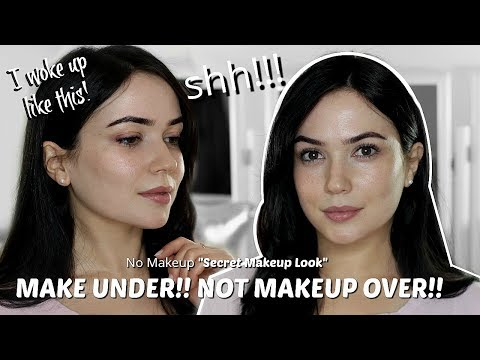 No Makeup Makeup Look | Secret