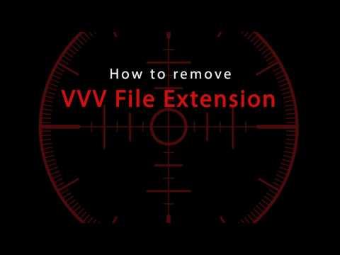 Delete VVV File Extension
