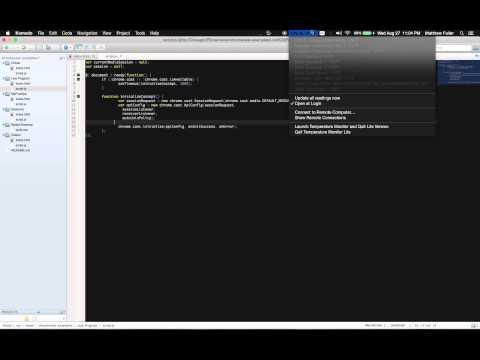 Chromecast Development Tutorial - Live Programming Walkthrough