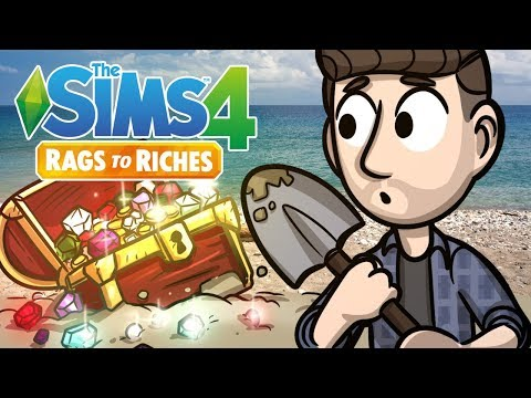 Buried Treasure | Sims 4 Rags to Riches Ep.18