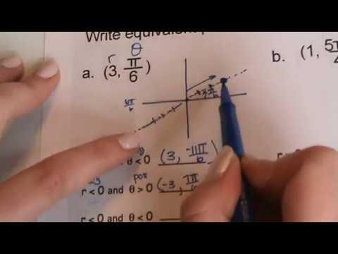 9.1 - Writing Equivalent Polar Coordinates