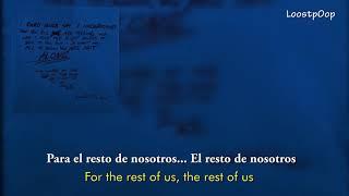 XXXTENTACION - HOPE (SUB español/Ingles) (Lyrics ESP/INGLES)