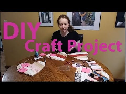 QUICK Target DIY Dollarspot Valentines Day Project: Celebrate what you love