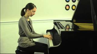 Bach Invention In A Minor Bwv 784, Played By Joy Morin