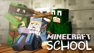 Minecraft School - RESCUING TINYTURTLE & THE HEADMASTER!