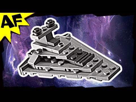 Mini STAR DESTROYER 30056 Lego Star Wars Animated Building Review
