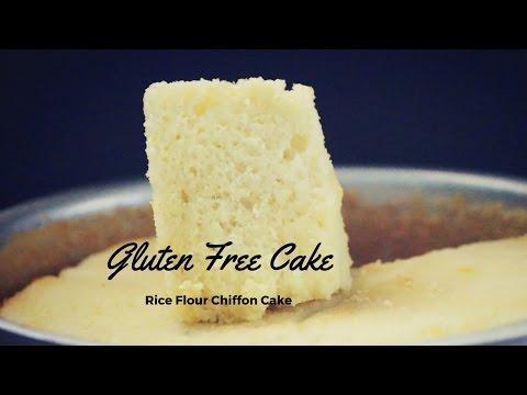 Gluten Free Chiffon Cake Recipe(100% Gluten Free Rice Flour Cake)