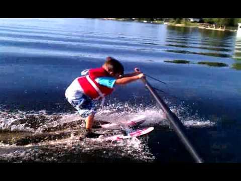 Video 1 -Teach a Child to Water Ski - Boom