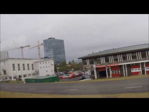 To downtown Reykjavik, Iceland by bus