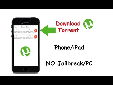 Download torrent on iPhone/iPad no jailbreak/pc 2017