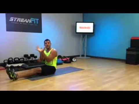 5-Minute Bodyweight Core Workout