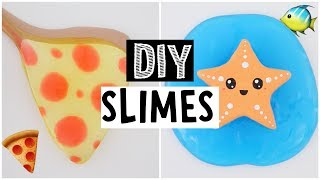 MAKING AMAZING DIY SLIMES - Testing Instagram Slime Recipes!