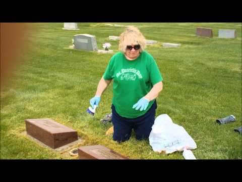 How to Clean Headstones/Cemetery Markers