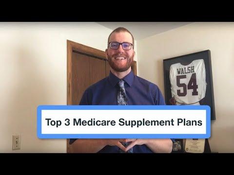 Top 3 Medicare Supplement Plans 2018