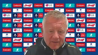 Chris Wilder disappointed as last gasp Arsenal winner knocks Sheffield Utd out of the FA Cup