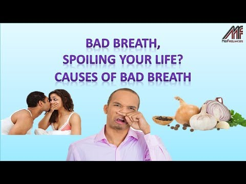 What are the causes of Bad Breath   Causes of Halitosis   Is Bad Breath Spoiling Your Life