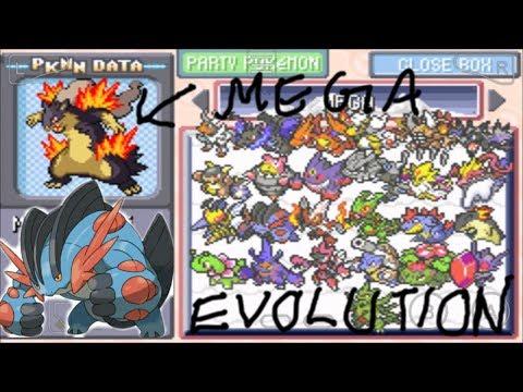 Pokemon Super Mega Firered All Mega Evolution Cheat Codes #1