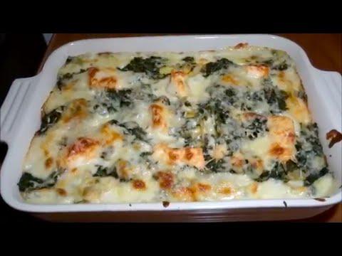 Salmon Lasagna with Spinach - Recipe #22