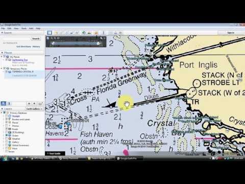 Google Earth Fishing Map