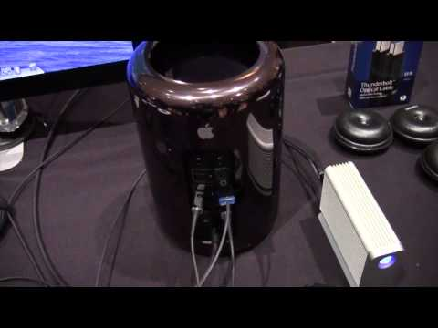 Corning Optical Thunderbolt Cables - CES 2014