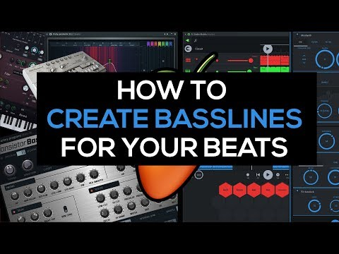 Beat making: How to create basslines for your beats (Tutorial)