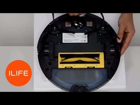 How to clean the sensors | ILIFE A4/s Robot Vacuum