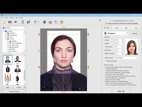Passport Photo Maker Software Review.  Perfect Photos in One Minute!