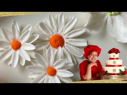 How to Make a Gumpaste Daisy