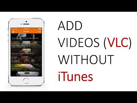 How to Add Videos in VLC in iPhone Without Using Itunes
