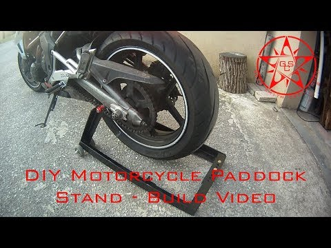DIY Paddock Stand - Build Video