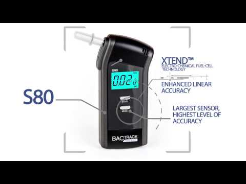 BACtrack S80 Breathalyzer Product Video