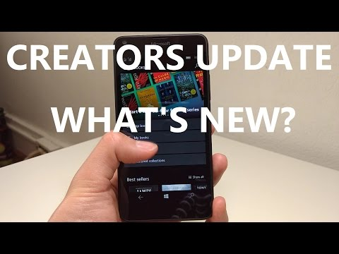 Windows 10 Mobile Creators Update: What's new?