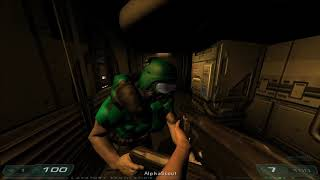 Shenanigans in 4 player coop in Doom 3