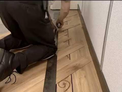 LVT Floorlaying video