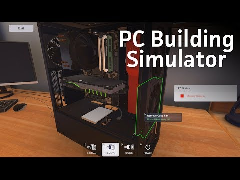 Is PC Building Simulator the graphical version of PC Part Picker?