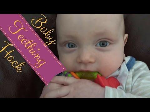 BABY TEETHING HACK    How to help teething baby   Teething Remedies