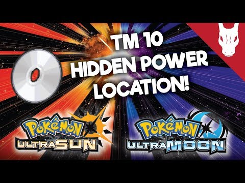 Where to Find TM 10 Hidden Power in Ultra Sun and Ultra Moon