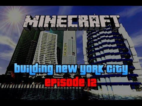 Minecraft New York City : Building NYC | Speed Build | Ep.12
