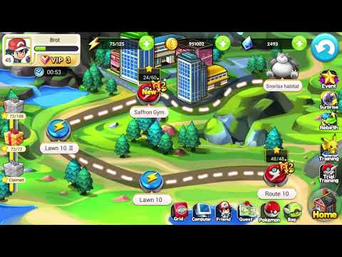Saffron Gym - PocketWar ( Pocket Hunter ) Game Gameplay Walkthrough 33