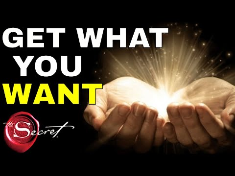 How To Get What You Want In Life From The Universal Law of Attraction (Ask Believe Receive)