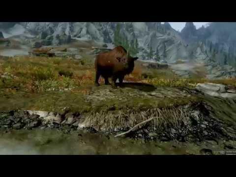 Custom creature: Woolly Rhino