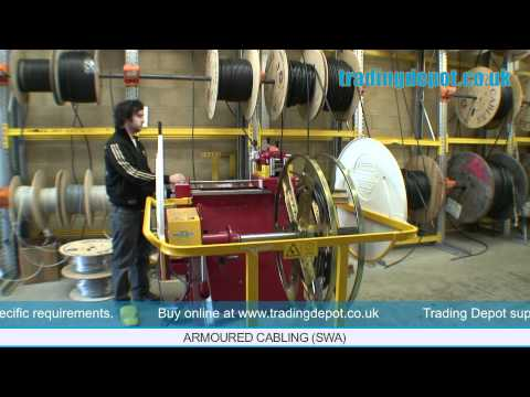 TRADING DEPOT: SWA Armoured Cable Stock - Cut To Length