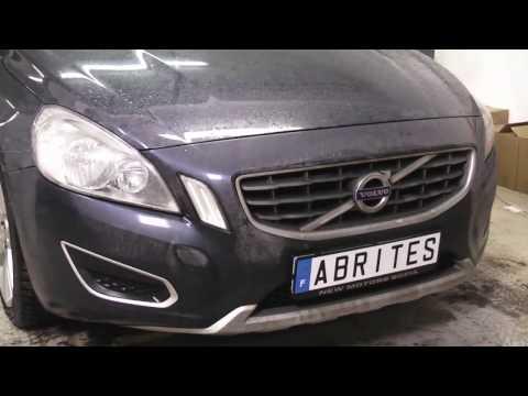 Volvo V60- Programming a key in an