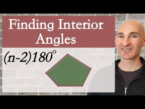 Interior Angle in a Polygon How to Find (Formula)