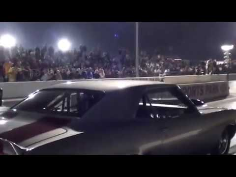 Kevin Neal Camaro Run using Wizards of NOS nitrous system