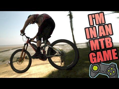 I CAN'T BELIEVE I'M IN A MOUNTAIN BIKE GAME!