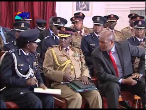 SENIOR POLICE OFFICERS DEMAND KAVULUDI SACKING