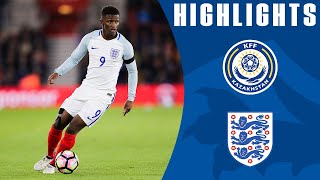 Kazakhstan U21 0-1 England U21 (Euro 2017 U21 Championship Qualifier)   Goals & Highlights